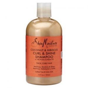 Shampoo-SHEAMOISTURE-COCONUT-HIBISCUS-CURL-SHINE-SHAMPOO